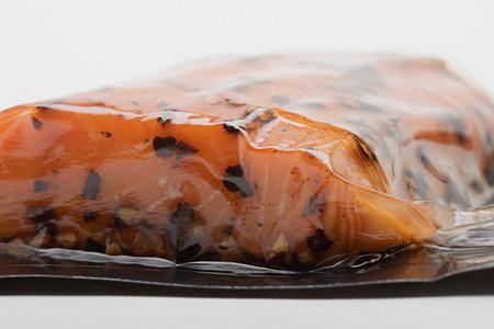 Smoked salmon Imagens