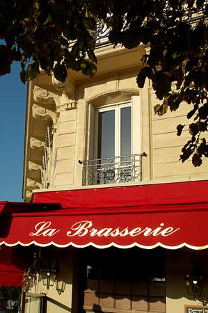 Paris brasserie