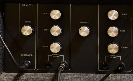 Amplifier in recording studio