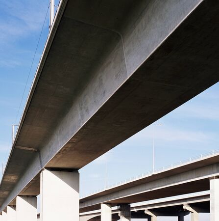 Motorway flyover