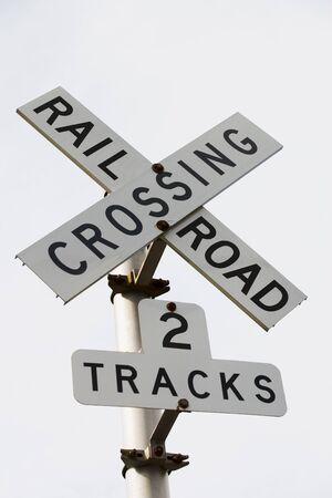 Railroad crossing Imagens - 131816930