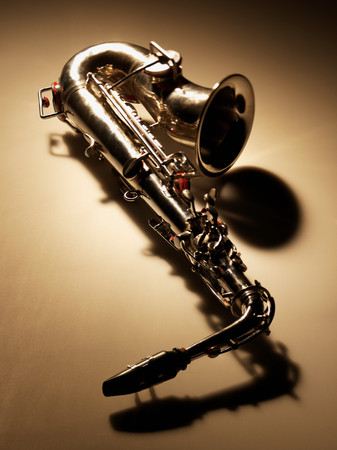 Saxophone Stockfoto