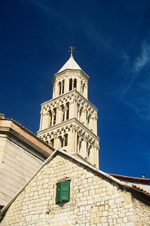 Bell tower of diocletians palace split Editorial