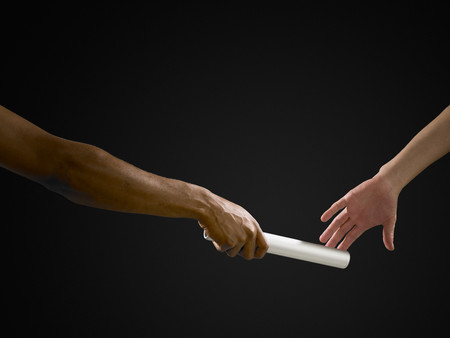 Passing a baton