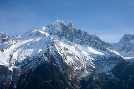 Mont blanc Reklamní fotografie