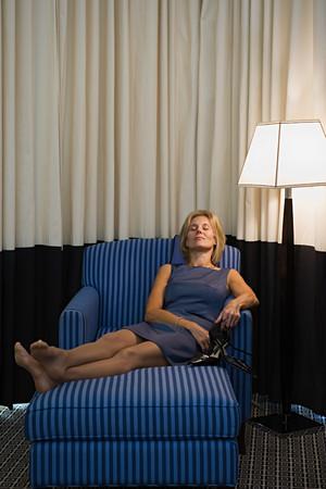 Woman resting Banque d'images