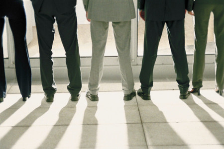 Business people standing 写真素材