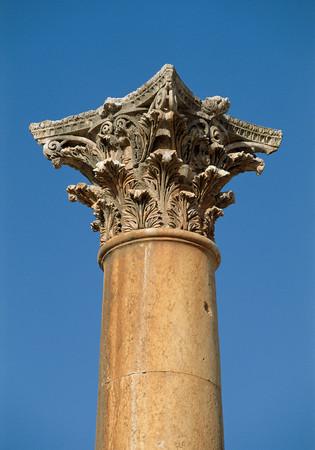 Corinthian column Foto de archivo - 119331415