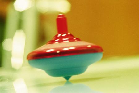Spinning top Reklamní fotografie