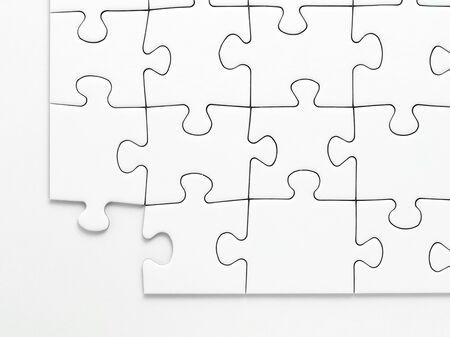 Ein fehlendes Stück aus einem Puzzle
