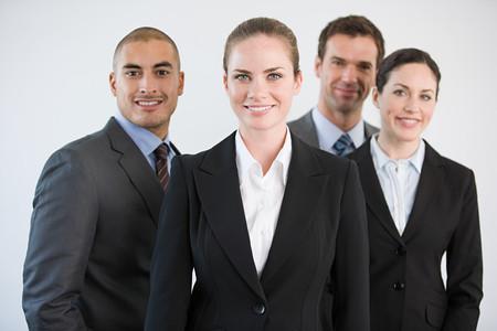Portrait of businesspeople Banco de Imagens - 124928724