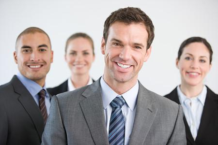 Portrait of businesspeople Banco de Imagens - 124931862