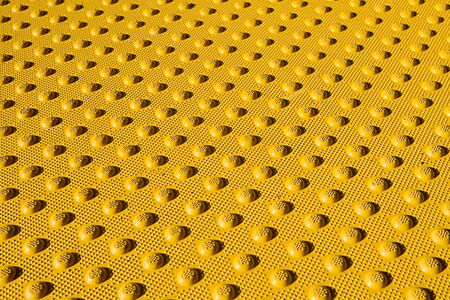 Close up of a speed ramp