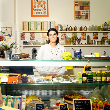Portrait Of A Woman Chef