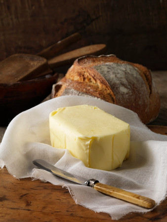 Organic Butter With Bread