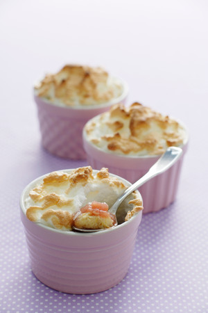 Dish Of Meringue Puddings