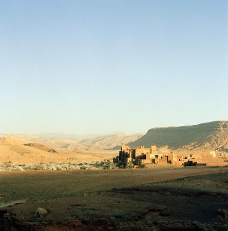 Kasbah Ait Benhaddou In Ouarzazate, Morocco Standard-Bild - 117998011