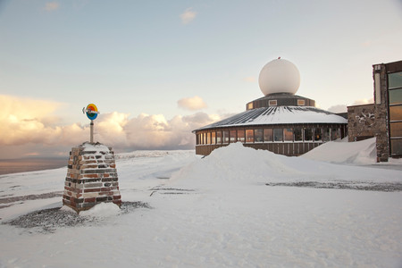 The Visitor Centre In North Cape (Nordkapp), Often Described As The Most Northerly Point In Europe, In Northern Norway