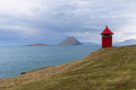 Beacon, Velbastadur, Faroe Islands Stock fotó