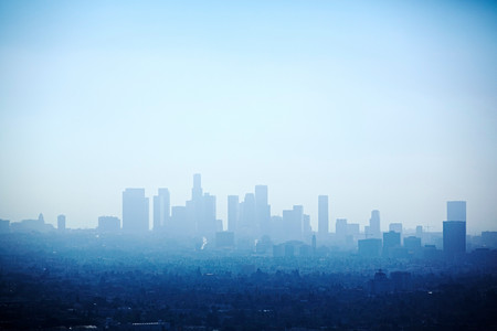 Cityscape, Los Angeles, California, Usa