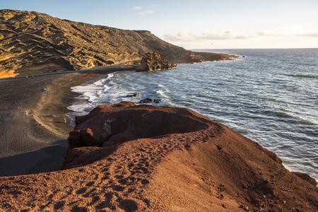 Landscape Timanfaya National Park, Lanzarote, Canary Islands