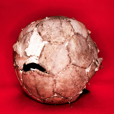 Worn Out Football
