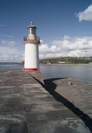 Lighthouse And Sea Defense, Whitehaven, Cumbria, England
