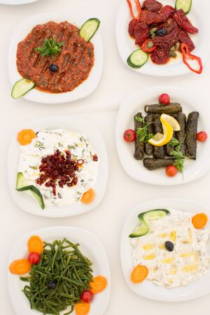 Traditional Mezze, Sigacik, Seferihisar, Turkey 写真素材