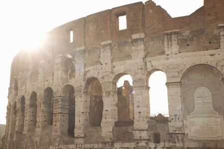Rome Colosseum  In Sunlight, Italy