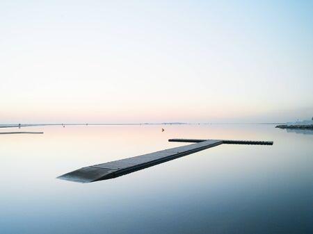 Floating Pontoon, West Kirby, England