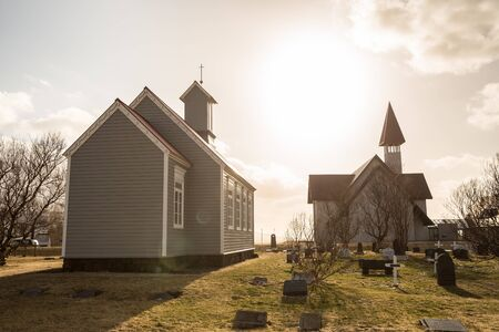 Traditional Church, Husafell, Iceland