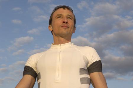 passtime: portrait of a cyclist