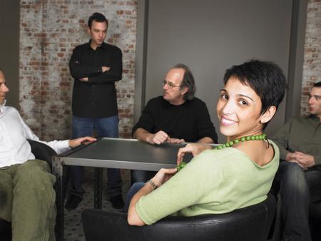 encounters: Portrait of business team. Brussels, Belgium.