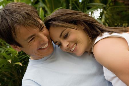 Portrait of a happy couple. LANG_EVOIMAGES
