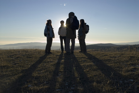 ruck sack: Group of people. LANG_EVOIMAGES