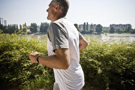 Man jogging LANG_EVOIMAGES