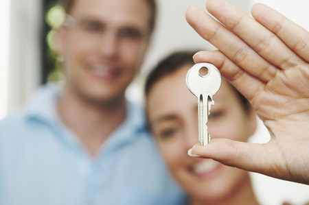 liable: Couple hold key to new property