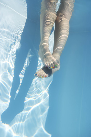 low section: Legs underwater LANG_EVOIMAGES