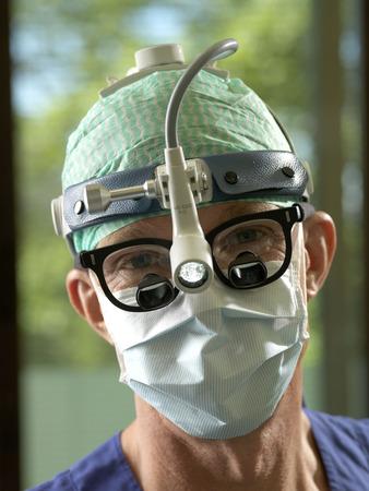 protects: Surgeon, portrait