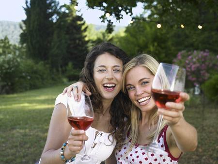 lavishly: Two women celebrating