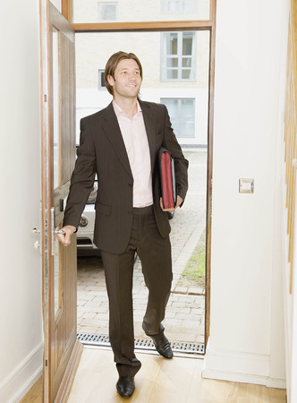middlesex: Business man arrives home