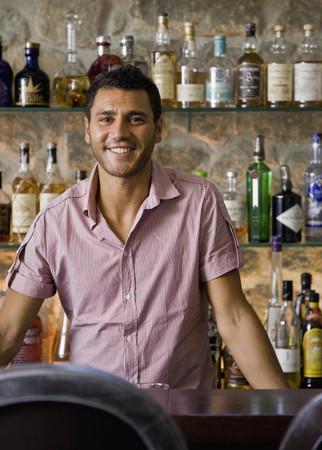 Portrait of a male bartender LANG_EVOIMAGES