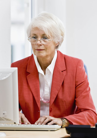 motivations: Woman working on computer