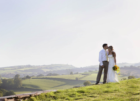 shared sharing: Newly weds on wedding day