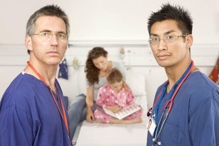 healer: A portrait of two doctors and a patient