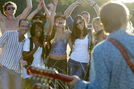 musically: Concert in a field