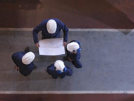 interrogations: Group Of Engineers