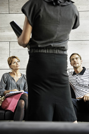 interrogations: People working with their assistant