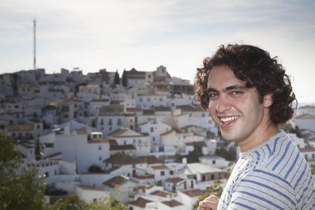 sooth: Man smiling