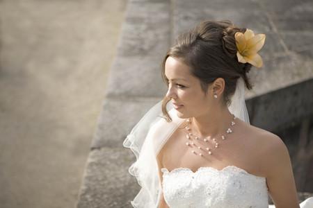 Portrait of a bride. LANG_EVOIMAGES
